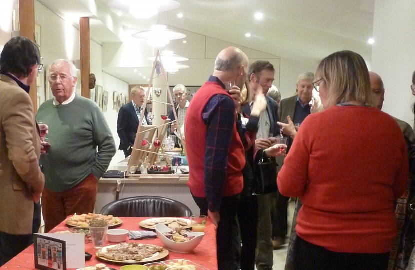 James Cartlidge MP at Clare & Cavendish Christmas Social